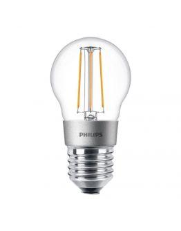 Philips Classic LEDluster E27 P45 4.5W 827 Helder | Dimbaar - Vervangt 40W