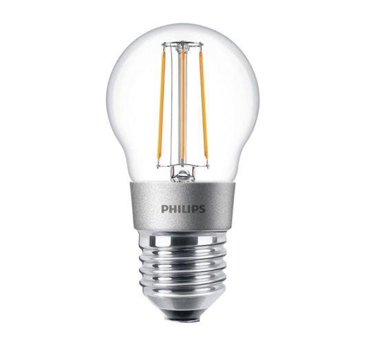 Philips Classic LEDluster E27 P45 4.5W 827 Helder | Dimbaar - Vervangt 40W LED-lampen