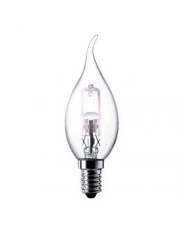 Philips EcoClassic 28W E14 230V BXS35 Clear tipcandle