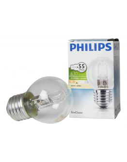 Philips EcoClassic Lustre 42W E27 230V P45 Clear