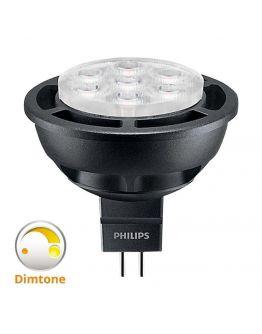 Philips LEDspot LV GU5.3 MR16 6.5W 827 24D (MASTER) | Zeer Warm Wit - DimTone Dimbaar - Vervangt 35W