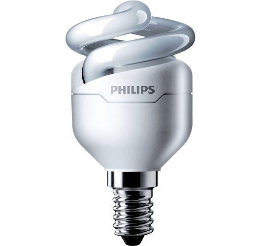 Philips Tornado T2 Spiral 5W 827 E14 | Zeer Warm Wit