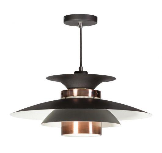 Potenza Hanglamp zwart / koper (max 60w) Overigen