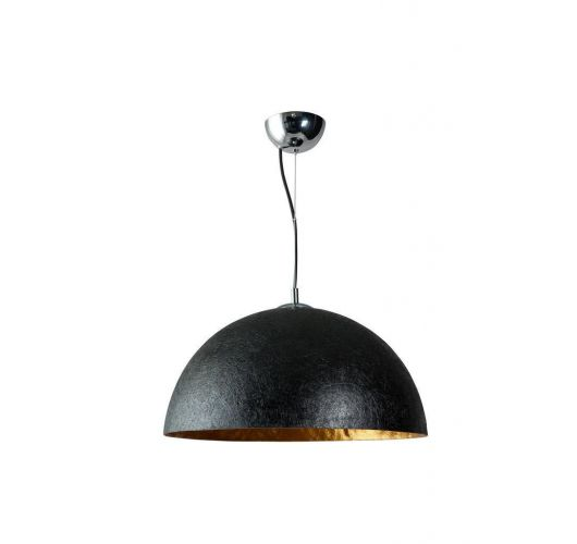 MezzoTondo Hanglamp Zwart / Goud 50 cm (max 60w)  Plafondlamp