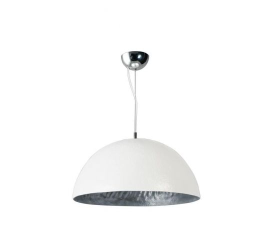 ETH Hanglamp Mezzo Tondo | Ø50 CM | Wit/Zilver Plafondlamp