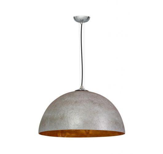 Hanglamp MezzoTondo Grijs / Goud 50 cm (max 60w) Plafondlamp