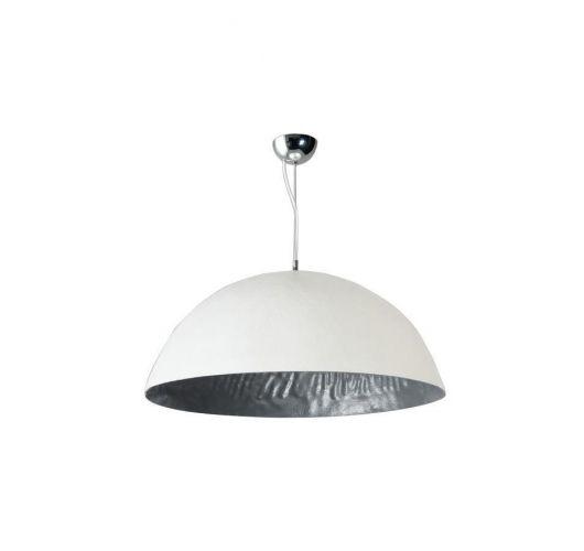 MezzoTondo Hanglamp Wit / Zilver 70 cm (max 60w) ACTIE op = op  Plafondlamp