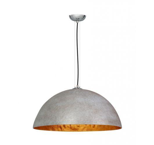 Hanglamp MezzoTondo  Grijs / Goud 70 cm (max 60w) Plafondlamp