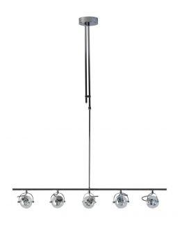 Vetro Hanglamp Chroom glas dimbaar