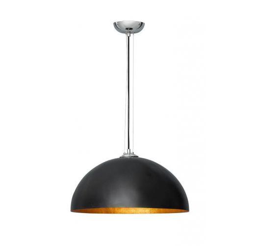ETH Hanglamp Mezzo Tondo Krijtverf | Ø50 CM | Zwart/Goud Plafondlamp