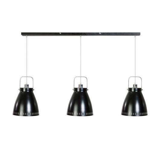 Acate Hanglamp Zwart 3 Lichtpunten Balk (max 60W) Plafondlamp