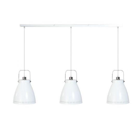 Acate Hanglamp Wit 3 Lichtpunten Balk (max 60W) Plafondlamp