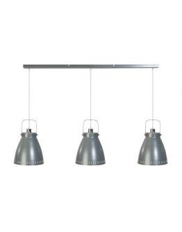 Acate Hanglamp Donkergrijs balk 3 lichtpunten (max. 60W)