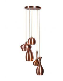 Ajaccio Hanglamp Koper (max 25w)