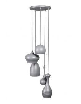 Ajaccio Hanglamp Grijs (max 25w)