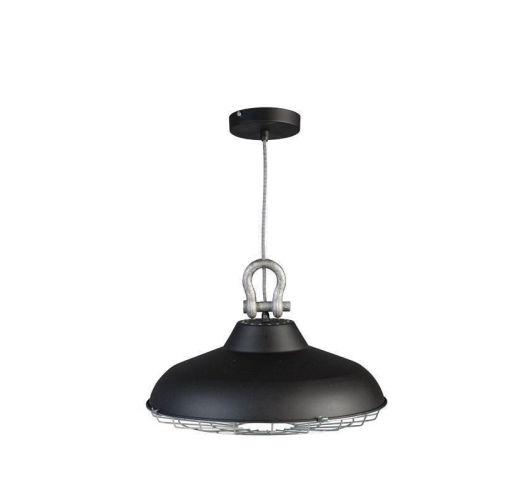 Industry Hanglamp Zwart (max 60w) Plafondlamp