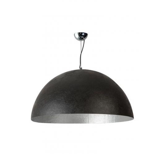 MezzoTondo Hanglamp Zwart / Zilver 100 cm (max 60w) Plafondlamp