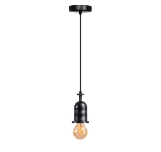 ETH Snoerpendel Bell | Zwart Overigen