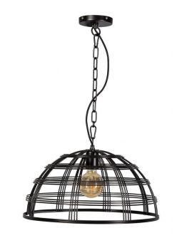 Barletta Hanglamp Zwart D50xH25 cm (Max. 75w)
