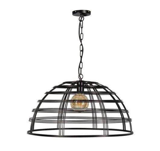 Barletta Hanglamp Zwart D70xH35 cm (Max. 75w) Plafondlamp