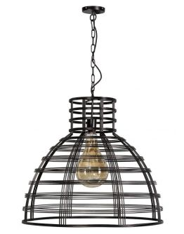 Molfetta Hanglamp Zwart D70xH61 cm (Max. 75w)