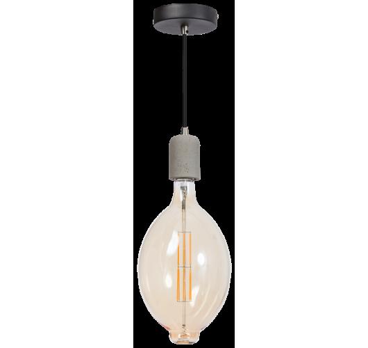 ETH Hanglamp Concrete | Grijs/Zwart Hanglampen