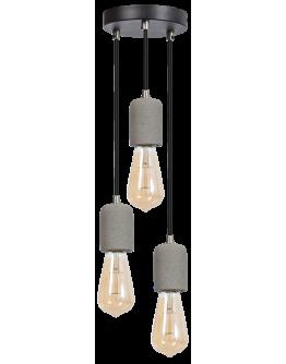 ETH Hanglamp Concrete | 3 Lichts | Grijs