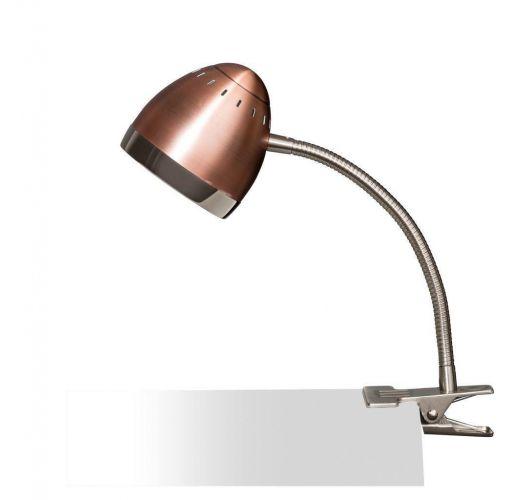 Harley Klemlamp Koper / Chroom (max 40w) Overigen