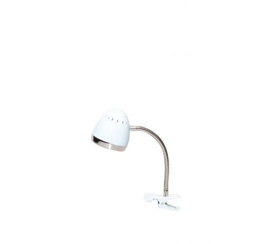 Harley Klemlamp Wit / Chroom (max 28w) Overigen