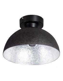 MezzoTondo Plafondlamp zwart / zilver (max 60w)