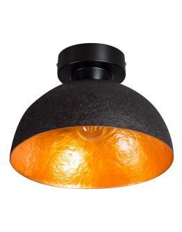 ETH Plafondlamp Mezzo Tondo | Ø30 CM | Zwart/Goud