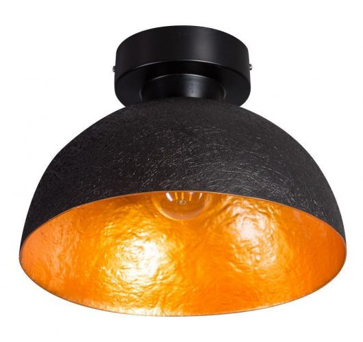 ETH Plafondlamp Mezzo Tondo | Ø30 CM | Zwart/Goud Plafondlamp