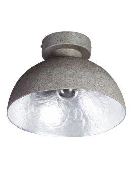 MezzoTondo Plafondlamp grijs / zilver (max 60w)