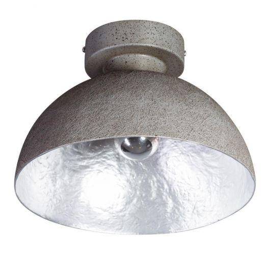 MezzoTondo Plafondlamp grijs / zilver (max 60w) Plafondlamp