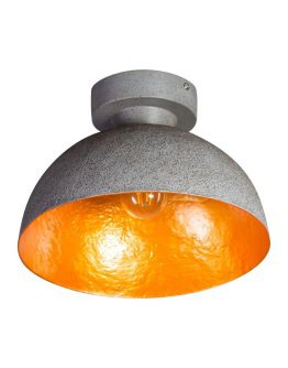 MezzoTondo Plafondlamp grijs / goud (max 60w)