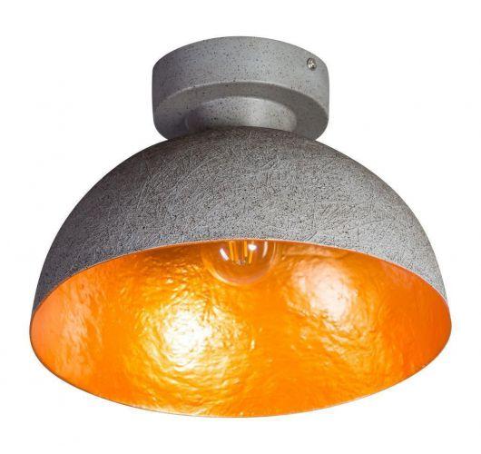 MezzoTondo Plafondlamp grijs / goud (max 60w) ACTIE op = op Plafondlamp