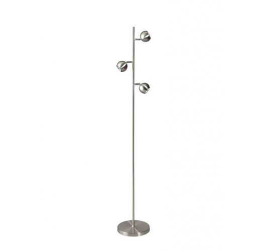 Globo Vloerlamp Staal (max 50w)