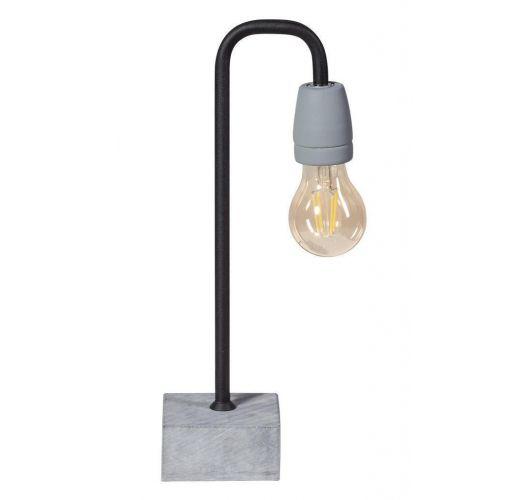 ETH Tafellamp Concrete Bow | Zwart/Grijs Tafellampen
