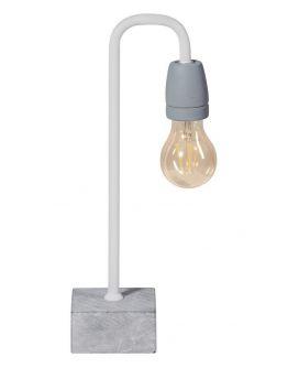ETH Tafellamp Concrete Bow | Wit/Grijs