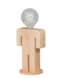 ETH Tafellamp Adam | Hout