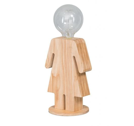 ETH Tafellamp Eva   Hout Tafellampen