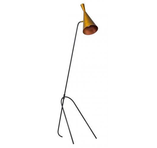 ETH Vloerlamp Lean | Zwart/Koper Vloerlampen