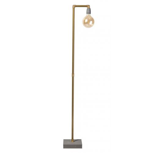 GassedUp Vloerlamp mat goud (max 60w) Vloerlampen