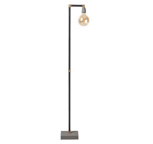 ETH Vloerlamp GassedUp | Mat Zwart Vloerlampen