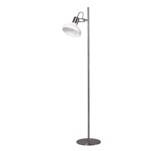 Deco Vloerlamp staal (max 60w)