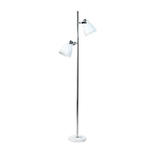 Acate Vloerlamp Wit (max 60W) Vloerlampen