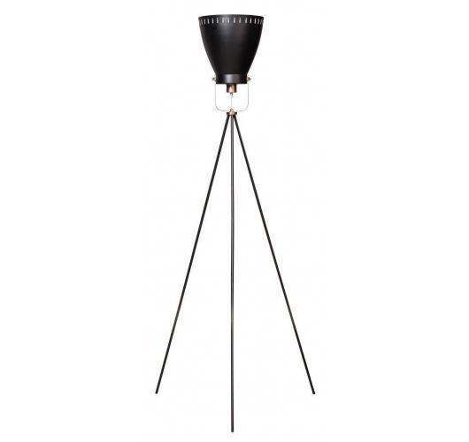 Acate Vloerlamp Zwart / Koper (max 60W) Vloerlampen