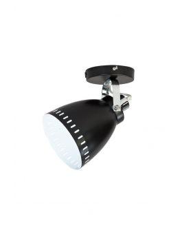 Acate Plafond / Wand Spot Zwart (max 60W)