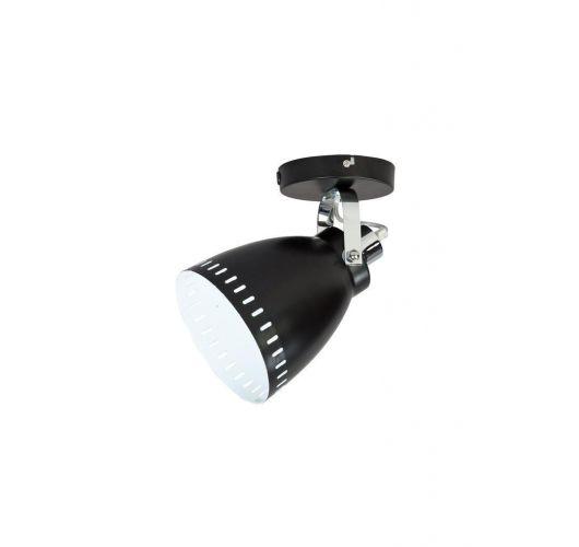 Acate Plafond / Wand Spot Zwart (max 60W) Plafondlamp