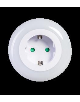 ETH Nachtlamp LED Wit | Sensor | Stopcontact